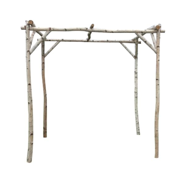 Birch Wood Chuppah