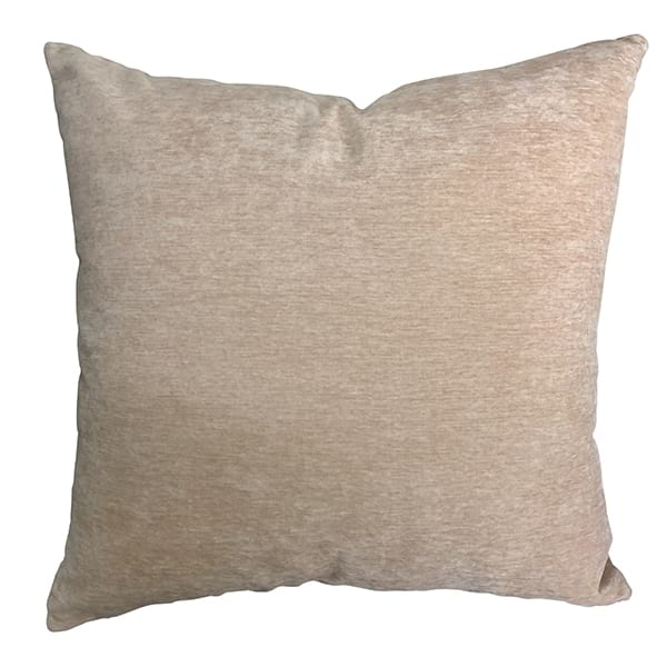 "Barely 18"" Blush Pillow"