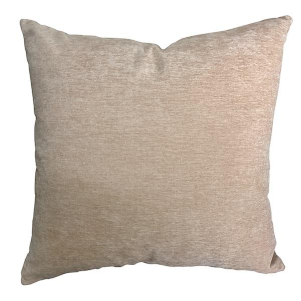"Barely 20"" Blush Pillow"