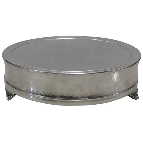 Edita - Silver Cake Stand (Large)