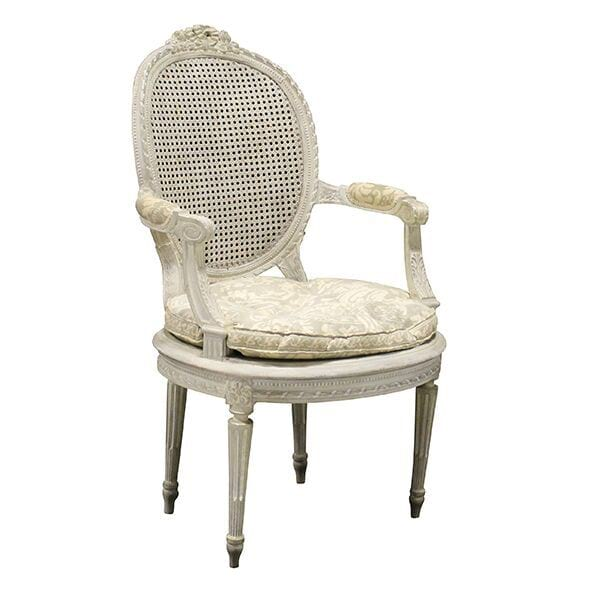 Vienne-Louis XVI Cane Chair
