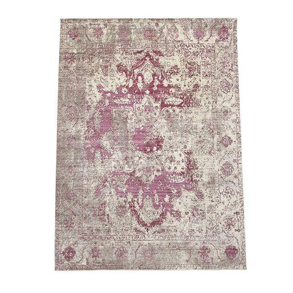 Oriental Pink Area Rug