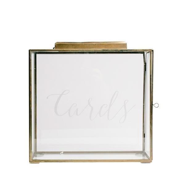 Brass (Medium) Card Box
