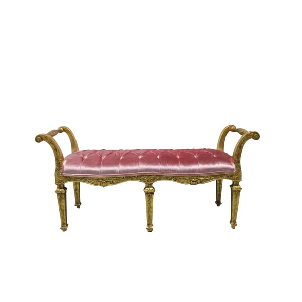 Brielle Tufted Bench