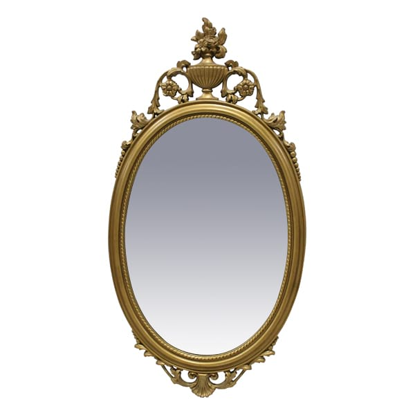 Rose Oval Mirror