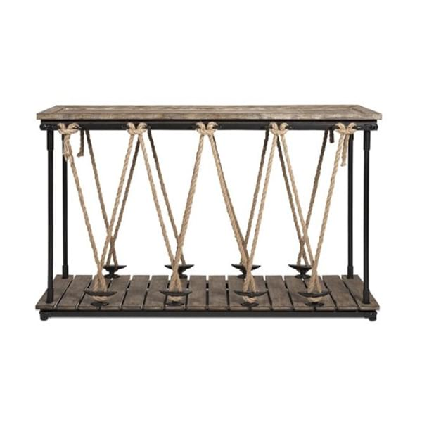 Maritime Nautical Console Table