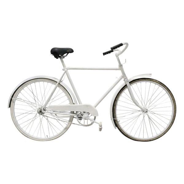 Vintage White Bike - Men's