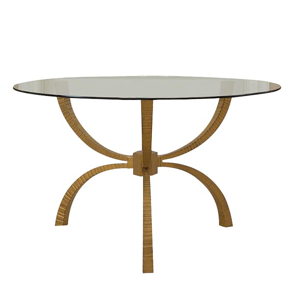 Tenton - Gold Dining/Entry Table