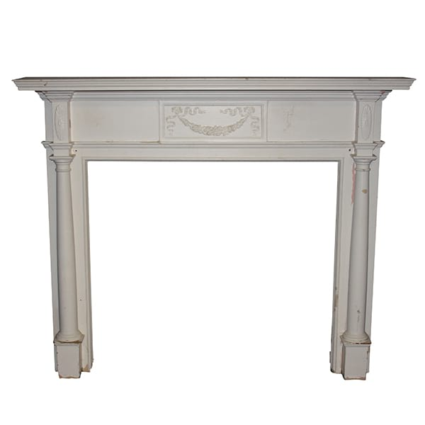 Vintage White Mantle 1