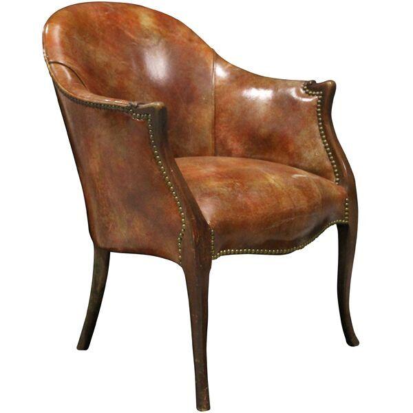 Hemingway Leather Club Chair