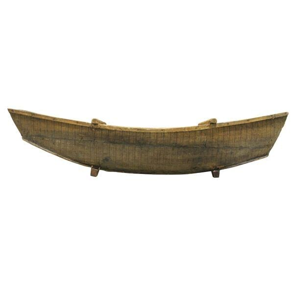 Medium Wood Canoe