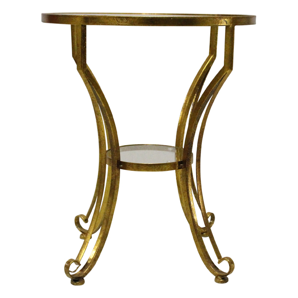 Maggie - Gold Side Table