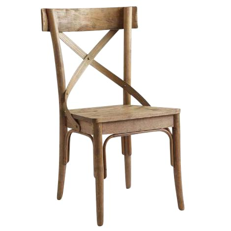Walnut Crossback Chair