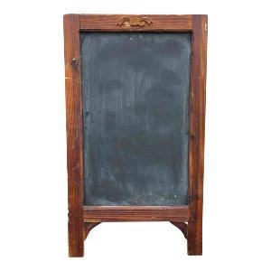 Wood Trimmed Sandwich Chalkboard