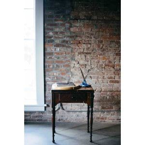 Wood Single Drawer Sewing Table