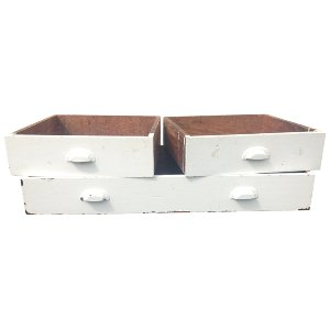 Wooden Drawers (set of three)
