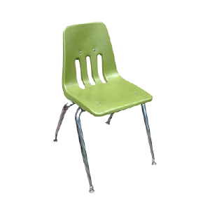 Kids Plastic Chair Green