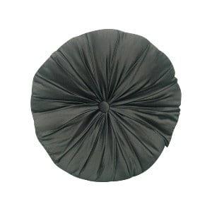 Black Satin Pintuck Pillow