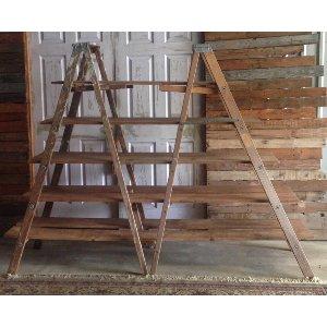 Ladder Shelving Display