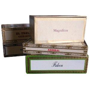 Vintage Cigar Boxes