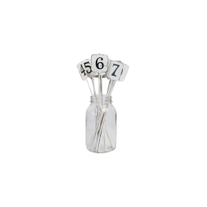 Cash Register Tag Table Numbers
