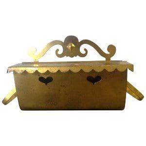 Brass Mailbox