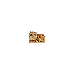 Gold Owl Pair