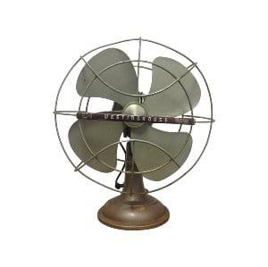 Brown Vintage Tabletop Fan
