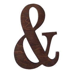 Wood Ampersand
