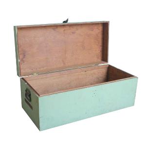 Mint Green Wood Trunk