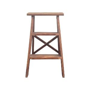 2' Wood Folding Ladder