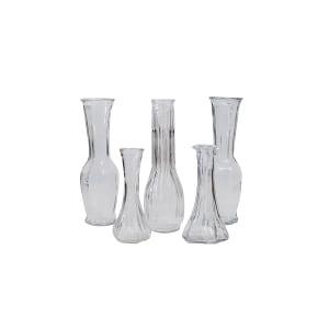 Hoosier Glass Bud Vases