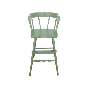 Green Painted Toddler Highchair