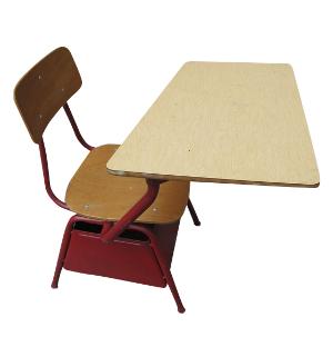 Heywood Wakefield Red School Desk
