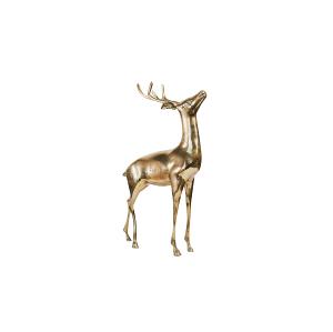 Medium Brass Stag