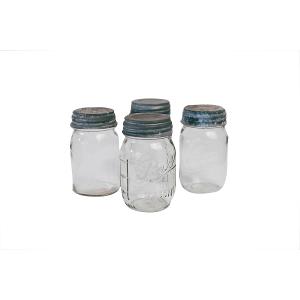 Mason Jars-Clear Glass