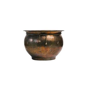 Mismatched Brass Pots
