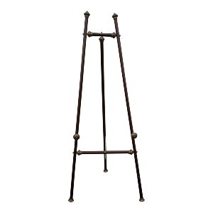 Wood & Brass Large Standing Easel