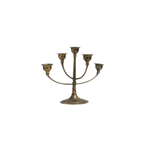 Small Brass Candelabras