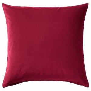 Bright Pink Velvet Pillow