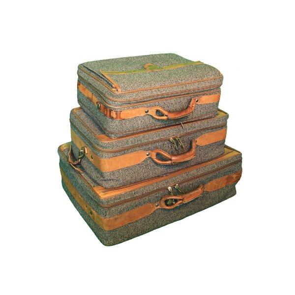 Tweed Suitcases