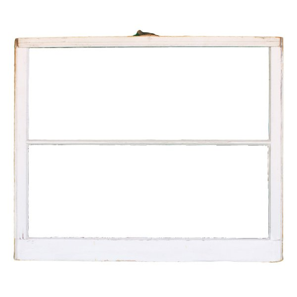 Vintage Window 2-Pane