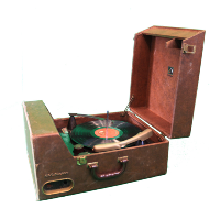 Vinnie Record Player