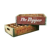Distressed Soda Crates