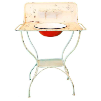Dirette French Wash Stand