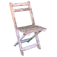 Marie Rustic Folding Chair