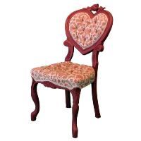 Rosey Heart Chair