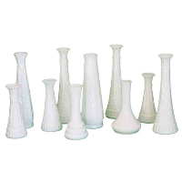 Bossey Milk Glass Vase
